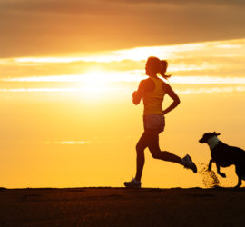 woman-running-dog